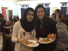 International student dinner at Loomis Chaffee