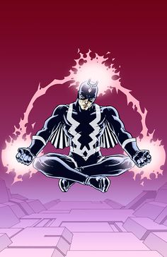 """xombiedirge: """"Black Bolt by Phillip Bond """" Superhero Characters, Comic Book Characters, Marvel Comics Art, Marvel Heroes, Medusa Marvel, Black Bolt Marvel, Marvel Universe, Universe Art, Marvel Comic Character"""