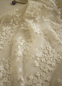 SALE Ivory Lace Fabric, Wedding Fabric, French Embroidered Lace, Bridal Lace Fabric, wedding Dress L Lace Bridal, Bridal Lace Fabric, Embroidered Lace Fabric, Wedding Fabric, Lace Ribbon, Tulle Fabric, Lace Embroidery, Tulle Lace, Curtain Fabric