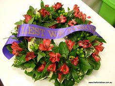 Anzac Wreath Anzac Day, Remembrance Day, Flower Arrangements, Wreaths, Flowers, Crafts, Ideas, Design, Floral Arrangements
