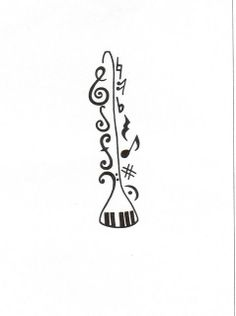 Clarinet tattoo...this ones for you Faith.