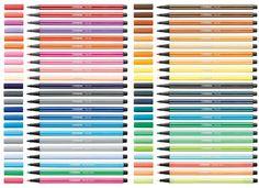 Stabilo- Colored Pens