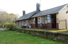 Time capsule: Norham Station (Northumberland) was closed during the Beeching Cuts in 1965 and is now up for sale.