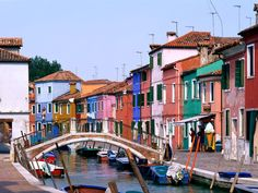 Burano, Italy- colorful places to see before you die