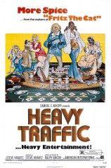 Heavy Traffic. Mezcla de acción real con animación