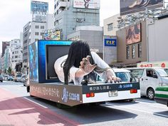 Only in Japan: Giant Japanese Ghost in Harajuku by tokyofashion, via Flickr