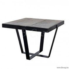 "PR Interiors Watou Bijzettafel in zwart staal en Heritage Oak 60<span style=""font-size: 0.01pt;""> PR-Rogiers-Home-Interiors-CRW/430/25 bijzettafel-bijzettafeltje-table-gigogne-table-basse-table-d'appoint-tables-gigognes-tables-basse </span>"