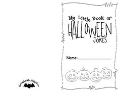 This book is a fun way to celebrate Halloween! Send your students home with a book full of Halloween jokes that they can share with their families!...