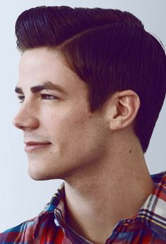 Grant Gustin. I wish Dario could have his hair like this