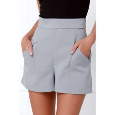 Short Outfits, Summer Outfits, Cute Outfits, Cute Shorts, Casual Shorts, Grey Shorts, Short Skirts, Short Dresses, Sailor Shorts