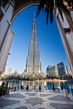 Burj Khalifa in Dubai, UAE // Skyscraper Sunday: World's 5 Tallest Buildings as of April 2013