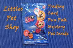 Opening Littlest Pet Shop Trading Card Fun Pak Mystery Pet Inside!