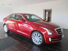 2015 Cadillac ATS Sedan - Red
