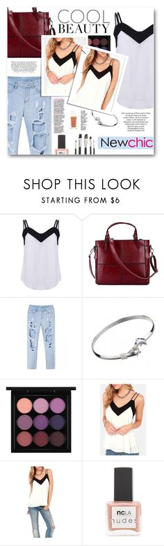 """""""Cool Beauty"""" by tasnime-ben ❤ liked on Polyvore featuring MAC Cosmetics, ncLA, Tom Ford and newchic"""