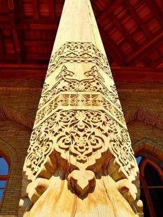 Beautiful Islamic Art Islamic Motifs, Islamic Patterns, Islamic Designs, Islamic Architecture, Art And Architecture, Architecture Details, Islamic World, Islamic Art, Arabesque