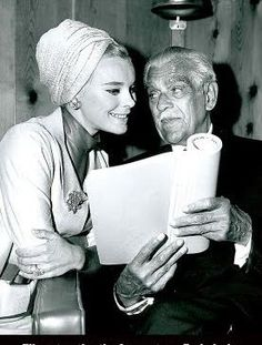 Boris Karloff and Elke Sommer read.
