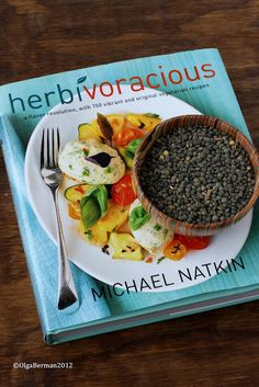 New Cook Book on my Bookshelf: Herbivoracious. 150 vegetarian recipes. Check out what I made!