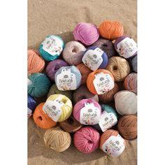Lote combinado de 100 madejas de hilo de cinta Reciclado pre teñido de colores proyecto de artesanía del ganchillo