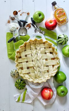 Classic Apple Pie with Maple Infused Yogurt & Pecans – SIMPLY BEAUTIFUL EATING
