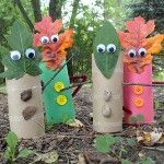 Cardboard Tube Crafts for Kids | Crafts by Amanda