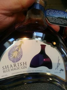 Sharish Blue Magic Gin Gin, Blue Magic, Whiskey Bottle, Drinks, Drinking, Beverages, Drink, Jeans, Beverage