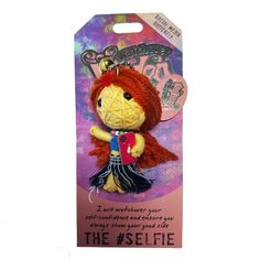 The Selfie Voodoo Doll Diy Voodoo Doll Keychain, Watchover Voodoo Doll, Wiccan, Pagan, Black People, Healing Stones, Objects, Butterfly, Fantasy