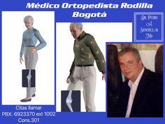 Consulta ortopedia rodilla en Bogotá - Colombia. PBX. 6923370 Ext. 10-02 consultorio 301. 🇨🇴📞
