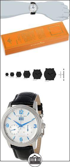 Stuhrling Original Caballero 286.33152 Symphony Eternity Mercury Mechanical cron-grafo Date Silver Tone Reloj  ✿ Relojes para mujer - (Lujo) ✿