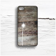 iPhone 5 Case Floral iPhone 5s Case Dandelion by HelloNutcase, $19.00