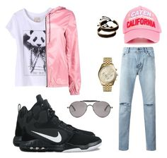 """""""Untitled #900"""" by shawnj255 ❤ liked on Polyvore featuring Yves Saint Laurent, NIKE, Dsquared2, ElevenParis, Vitaly, Boohoo, Michael Kors, Givenchy, men's fashion and menswear"""