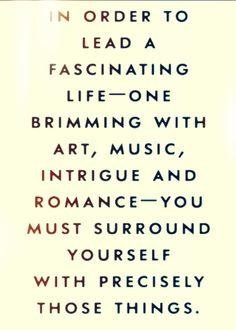 fascinating life