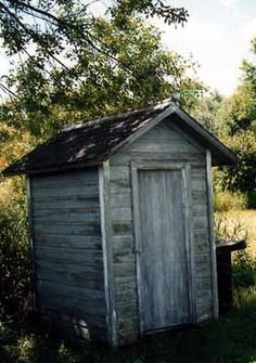 front view of the million dollar outhouse not quite sure why they call it that - Garden Sheds Michigan