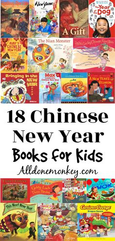 18 Chinese New Year Books for Children : These Chinese New Year books for children are a wonderful introduction to this festive holiday. They range from simple picture books to early chapter books. Chinese New Year Activities, Chinese New Year Crafts, New Years Activities, Activities For Kids, Kid Activites, Learning Activities, New Year Pictures, Simple Pictures, Best Children Books