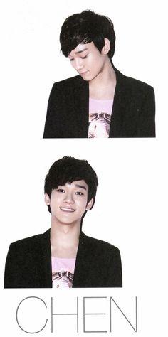 Chen - Exo-M [SMArt]  I looove his smile :)