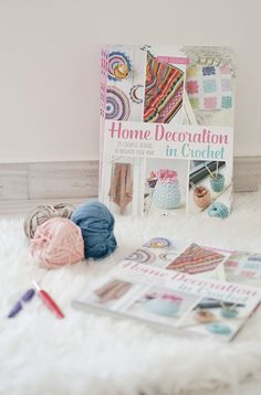 HOME DECORATION IN CROCHET BOOK TOUR