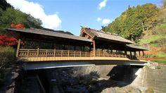 A Covered Bridge Once Crossed by Sakamoto Ryoma : Miyuki-no-hashi Bridge (Ozu city, Ehime prefecture)| SetouchiFinder