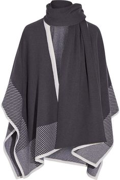 Duffy   Wool and cashmere-blend poncho   NET-A-PORTER.COM