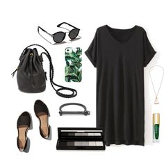 Mod Jungle by mooreaseal on Polyvore featuring Abercrombie & Fitch, Milly, shu uemura, black, jungle and mooreaseal