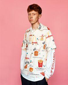 McDonald's print King Krule for i-D Magazine