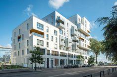 Reportage architecture résidence « Docks en Seine » pour le promoteur immobilier Seri-Ouest à Rouen. Photos Guillaume Briere-Soude