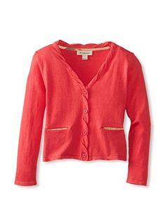 Burberry Kid's Cardigan Sweater (Indian/Pink)