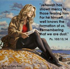 So true, Jehovah never wanted us to live the life we do today... so he has huge empathy for us and he will draw close to us and help us. It is a promise, he cannot lie.