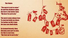 Nice Poems For New Years Eve  Happy New Year 2016 Poems: The most enchanting moment of a year is almost coming! That is- New year.... a new, fresh and energetic beginning, the onset of this all brand new era is in our lives. These happy new year poems of 2016 welcome you all in this new face of life.... they…