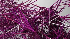 Forms (excerpt) by Memo Akten. http://www.memo.tv/forms  For the 2012 London Olympic games, digital interpreter Quayola and visual artist Memo Akten teamed up with Nexus Interactive Arts to produce an interactive animation and installation for the Cultural Olympiad at the National Media Museum in Bradford.   The project uses motion-capture data of athletes to create bizarre and abstract form-shifting designs.