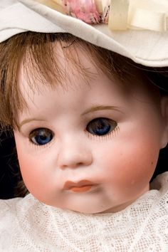 what a face - toddler doll made in 1910 in France by S.F.B.J. Doll Company