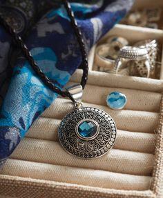 Lotti Dottie Swirl Ring Ring Necklace, Washer Necklace, Pendant Necklace, Lottie Dottie, Ginger Snaps Jewelry, Jewelry Gifts, Jewelry Ideas, Fashion Accessories, Bling