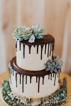 Remarkable Wedding Cake How To Pick The Best One Ideas. Beauteous Finished Wedding Cake How To Pick The Best One Ideas. Succulent Wedding Cakes, Floral Wedding Cakes, Unique Wedding Cakes, Wedding Cake Designs, Wedding Cake Toppers, Succulent Cakes, Lace Wedding, Cactus Wedding, Wedding Sweets