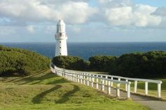 Cape Otway is a cape in south Victoria, Australia on the Great Ocean Road; much of the area is enclosed in the Otway National Park. Lighthouse Hotel, Wonderful Places, Beautiful Places, Place To Shoot, Victoria Australia, Greatest Adventure, Day Tours, National Parks, Scenery