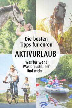 Tipps für euren Aktiv-Urlaub: Wandern, Fahrradtour, Reiten, Kanufahren. Eine Übersicht mit Tipps, Tricks und Checkliste. | Urlaub in Niedersachsen