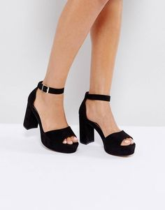 ef694f7ed54 Buy Black Asos Heeled Sandals for woman at best price. Compare Sandals  prices from online stores like Asos - Wossel Global